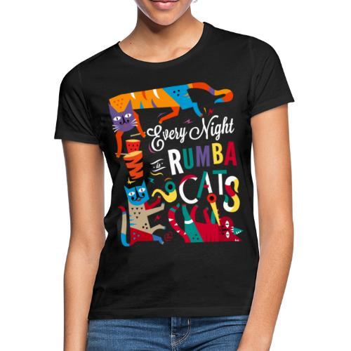 Chats Musique - Rumba salsa mambo - T-shirt Femme