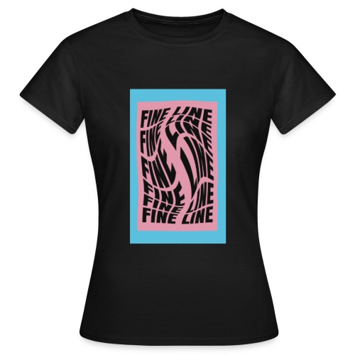 fine line print - Women's T-Shirt