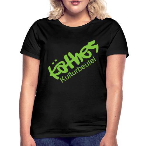 Kulturbeutel Logo - Frauen T-Shirt