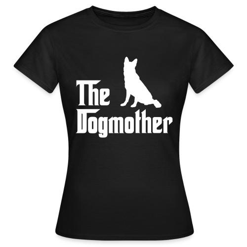 Dogmother Schäferhund weiss - Frauen T-Shirt