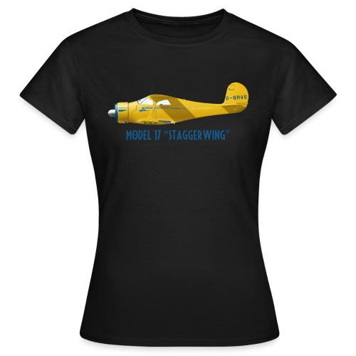 Beech Model 17 Staggerwing - Women's T-Shirt