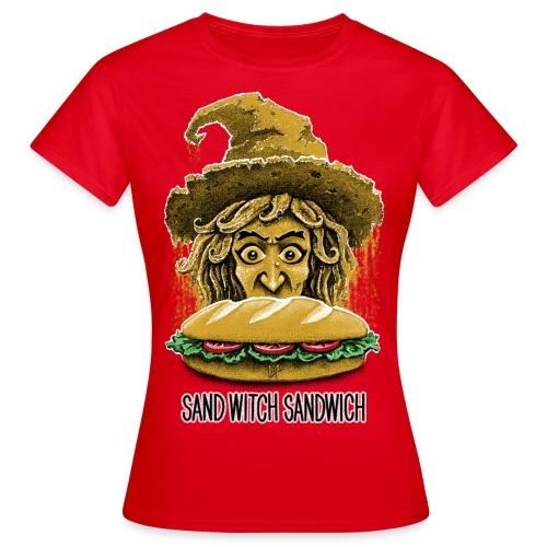 Sand Witch Sandwich V1 - Women's T-Shirt
