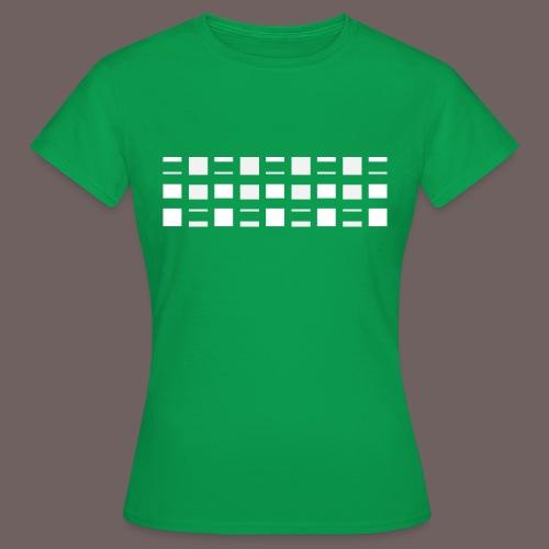 GBIGBO zjebeezjeboo - Rock - Blocs 2 - T-shirt Femme