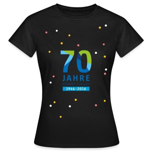 70 Jahre Eckert Schulen Konfetti - Frauen T-Shirt