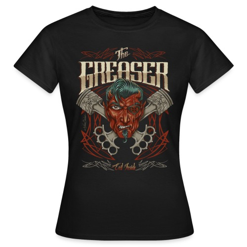 the greaser2 unido2 - Camiseta mujer