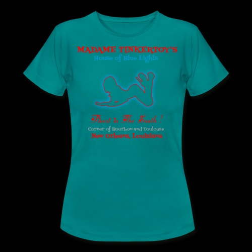 Madame Tinkertoys - Women's T-Shirt