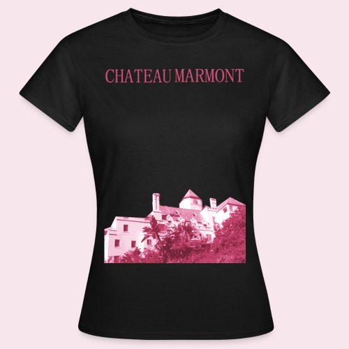 Chateau Marmont - Dame-T-shirt