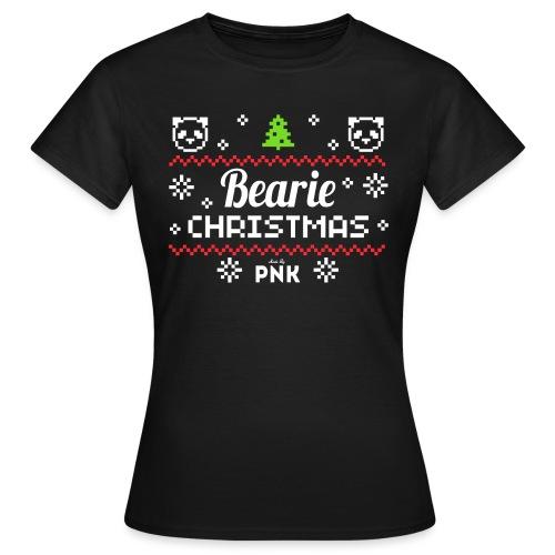 PNK Bearie Christmas - Frauen T-Shirt