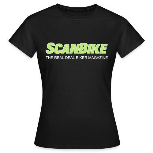 ScanbikeGreen&white - T-shirt dam