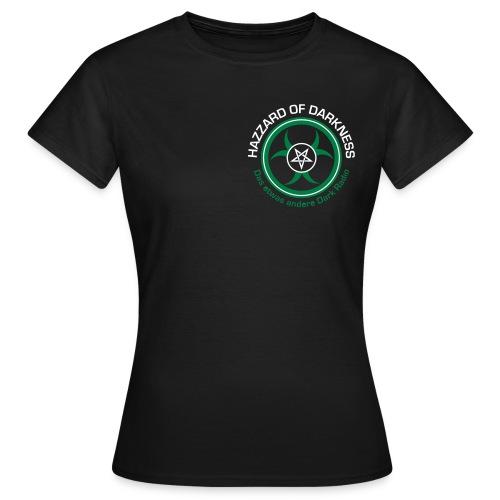 hodlogo cmykdunklergrund - Frauen T-Shirt