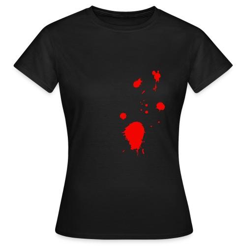 blut - Frauen T-Shirt