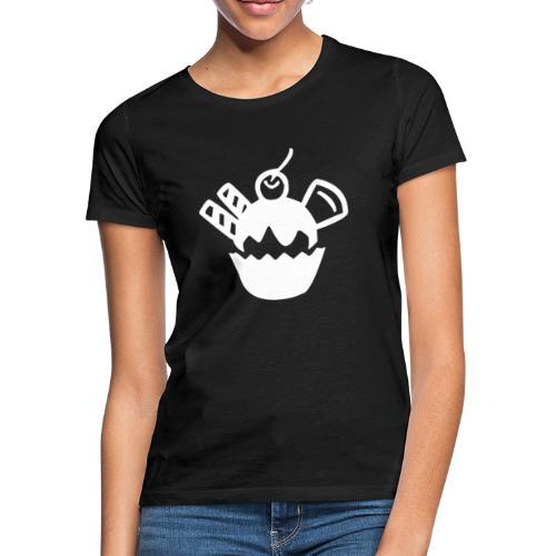 Eis und Eiscreme Symbol - Frauen T-Shirt
