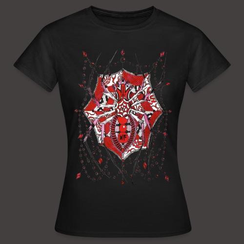 Spider Dentelle Red - T-shirt Femme
