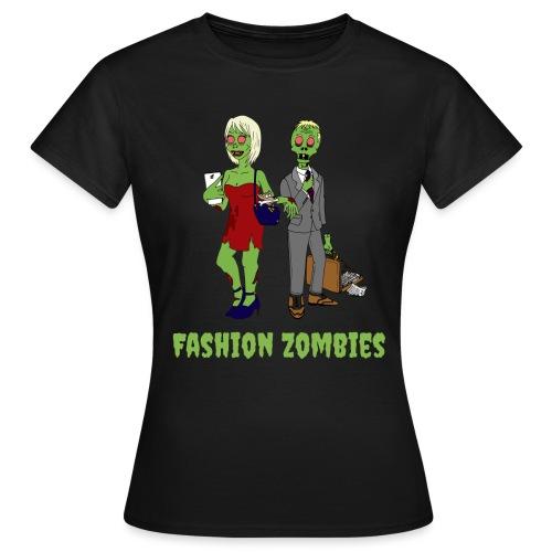 Fashion Zombie - Women's T-Shirt