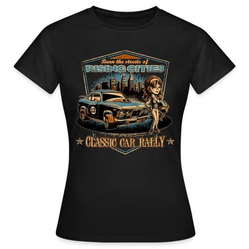 risingcities classiccarrally - Frauen T-Shirt