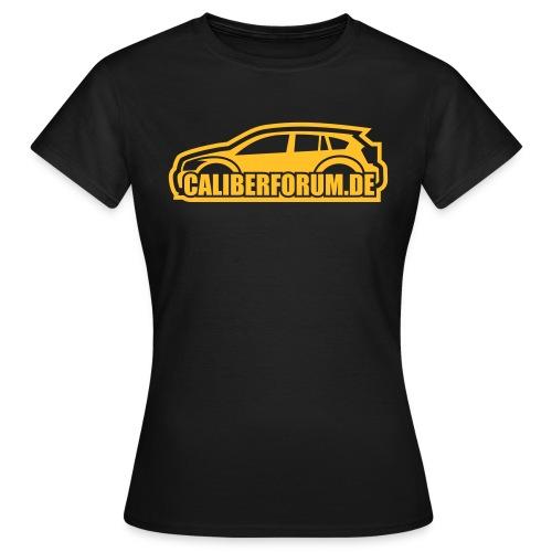 Helles Logo für dunkle Shirts - Frauen T-Shirt