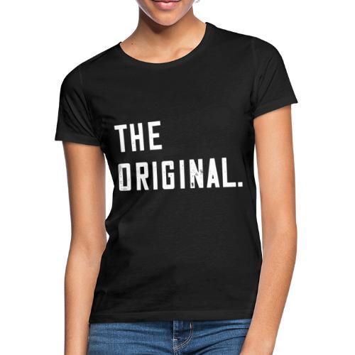 The Original T-Shirt Eltern Kind Paar Outfit - Frauen T-Shirt