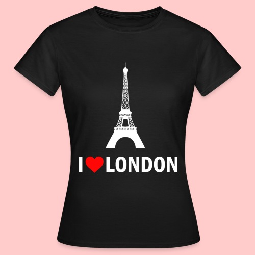 LONDON png - Vrouwen T-shirt