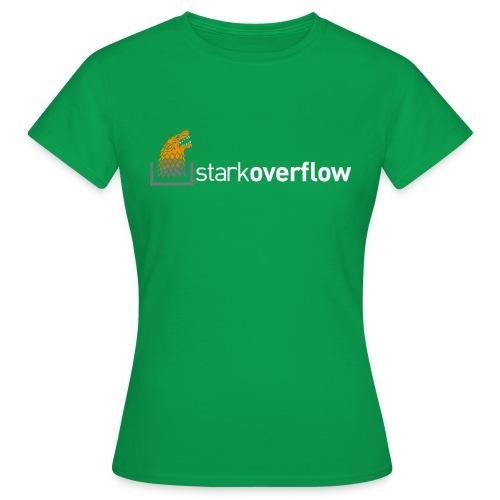 stark overflow - Camiseta mujer