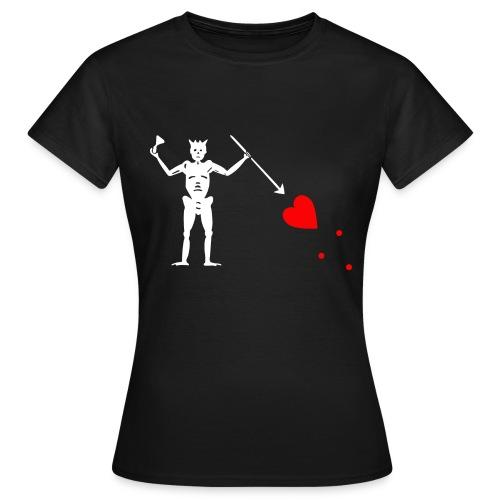 Barbe Noire - T-shirt Femme