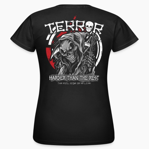 Terror - Harder Than The Rest - Women's T-Shirt
