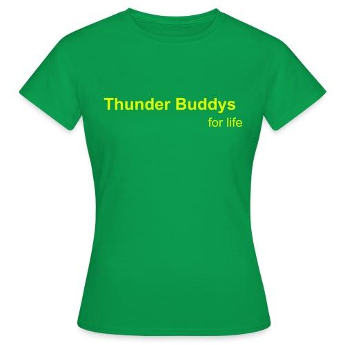 thunder - Frauen T-Shirt