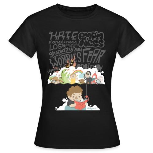 Bücher sind Freunde - Frauen T-Shirt