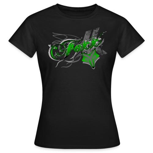 Grunge green Foxx - Women's T-Shirt
