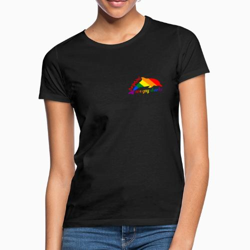 Dolphins are gay sharks! - Women's T-Shirt