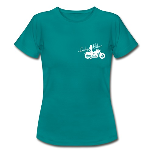 Lady Biker - Custom bike - Naisten t-paita