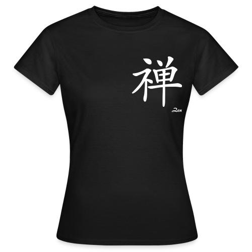 signe chinois zen - T-shirt Femme