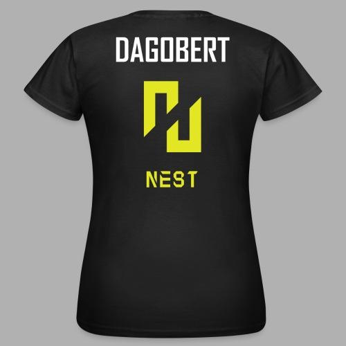 ENEMY NEST joueur DAGOBERT - T-shirt Femme