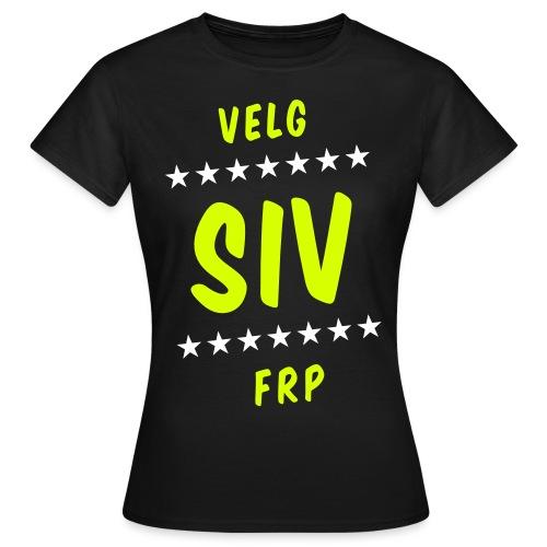 Velg Siv - T-skjorte for kvinner