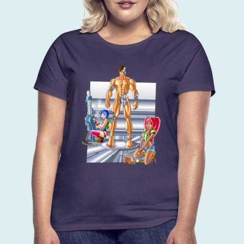 Terminator e meccaniche col - Maglietta da donna