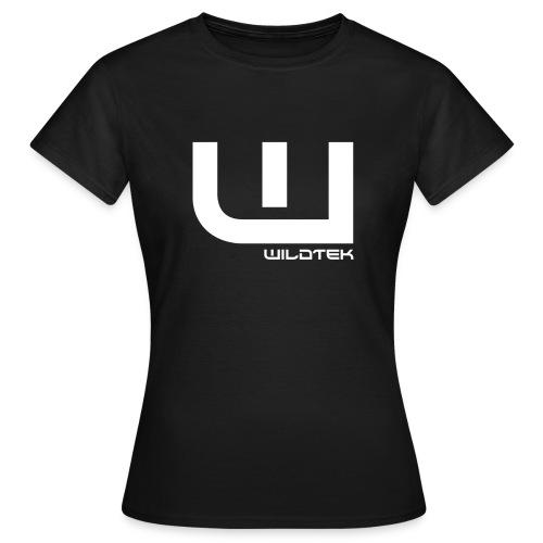 Wildtek Logo White - Women's T-Shirt