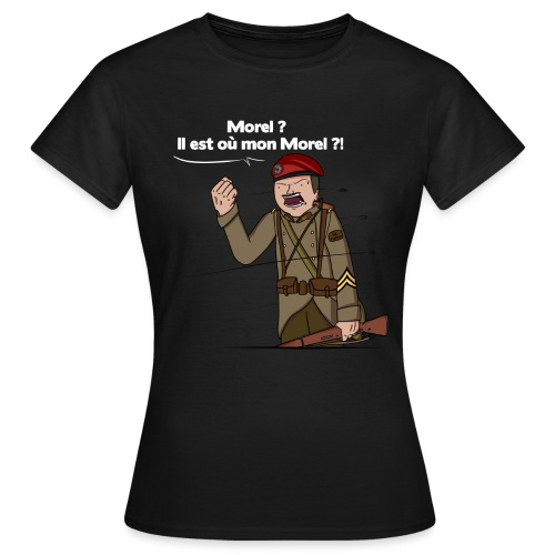 Sgt.Flantier 1940 - T-shirt Femme
