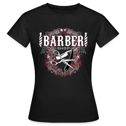 Barber Shop_03 - Maglietta da donna