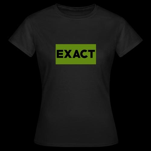 Exact Classic Green Logo - Women's T-Shirt