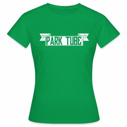 ParkTube Banner weiss - Frauen T-Shirt