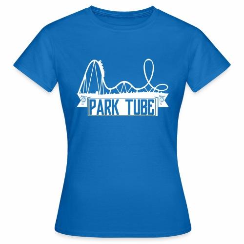 ParkTube Banner mit Achterbahn - Frauen T-Shirt