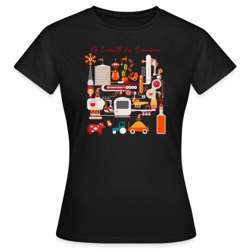 Le Comité du Bourbon - T-shirt Femme