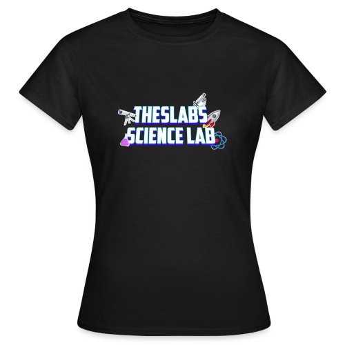 TheSlabs Science Lab Logo - Maglietta da donna