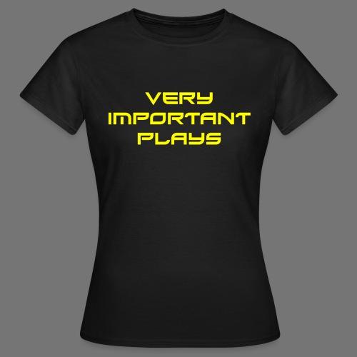 VIP YELLOW - Frauen T-Shirt