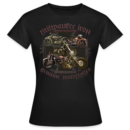 Milwaukee Motorcycles Choppers Biker - Frauen T-Shirt
