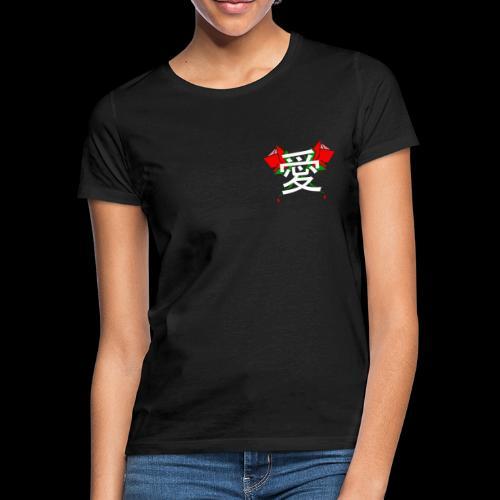 LAGOON XL - LOVE ROSES - T-shirt Femme