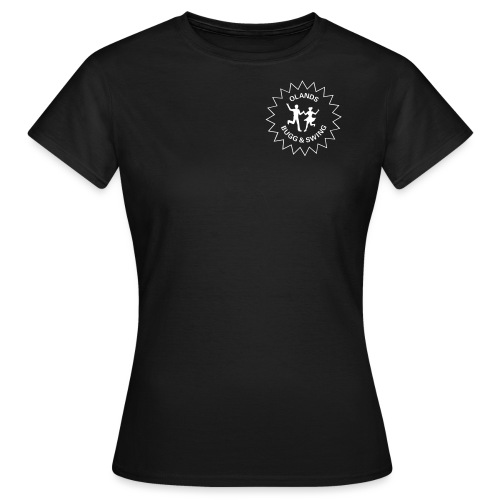 Olands Bugg Swing liten logga - T-shirt dam