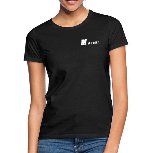 Maurui Basic Logo black - Frauen T-Shirt