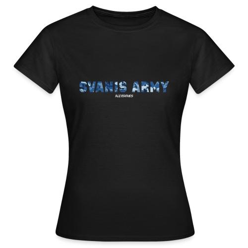 SVANIS ARMY (ALEXSVANIS VIT) - T-shirt dam