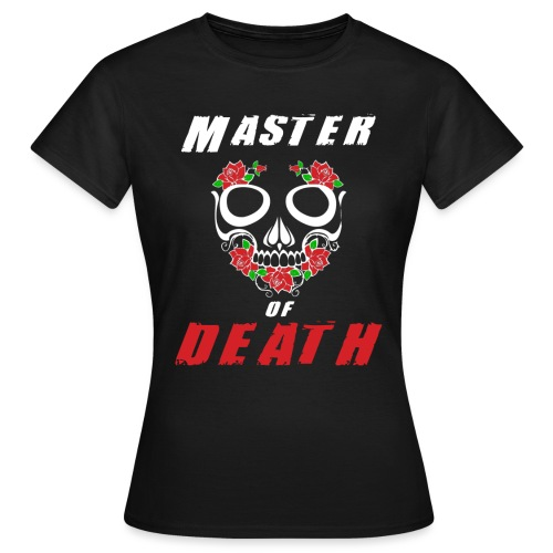 Master of death - white - Koszulka damska