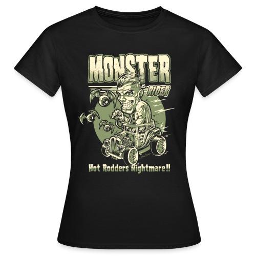 frankie hot rod 1 unido - Camiseta mujer